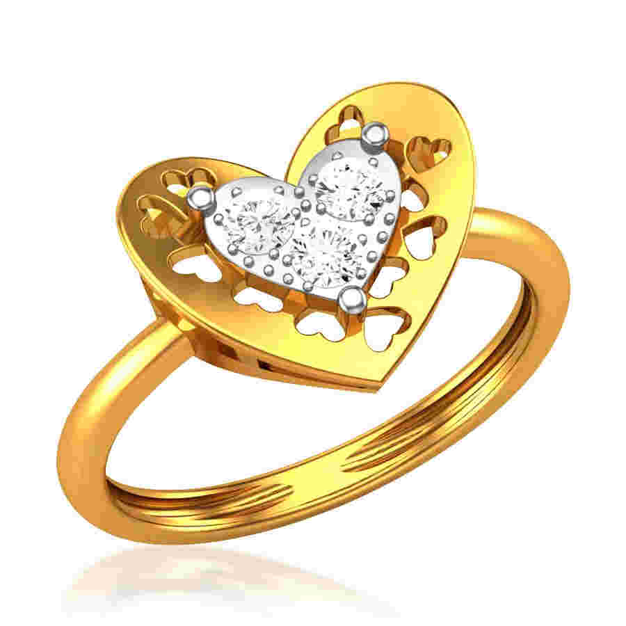 Allotrope Diamond Ring