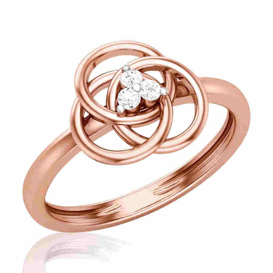 Lozenge Diamond Ring