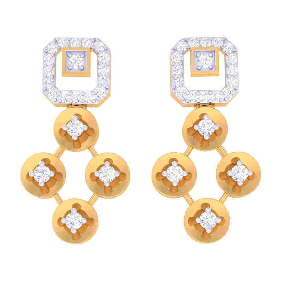 Ada Diamond Neacklace Set