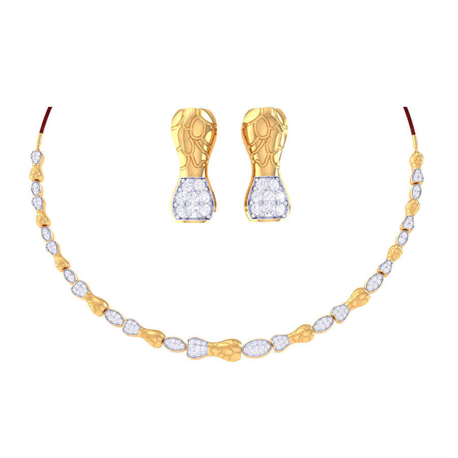 Betsy Diamond Necklace Set