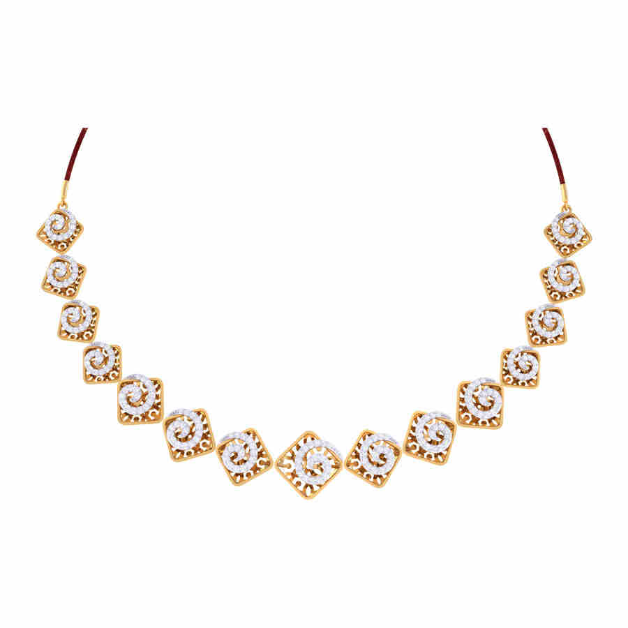 Claire Diamond Neacklace Set