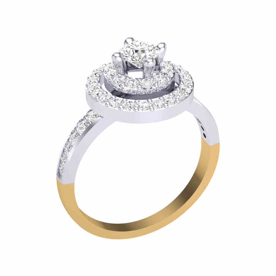 Solitaire Platinum Ring