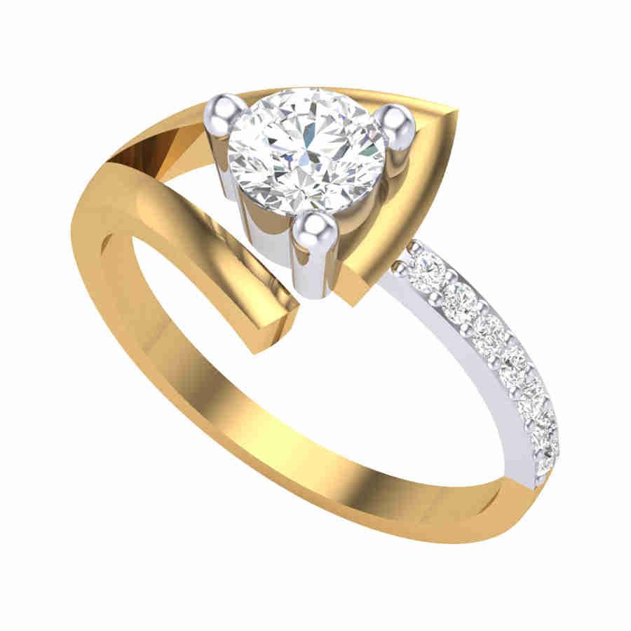 Emerlad Diamond Ring