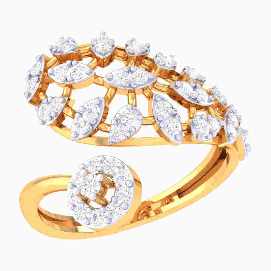 Elegant Piece Of Diamond Ring