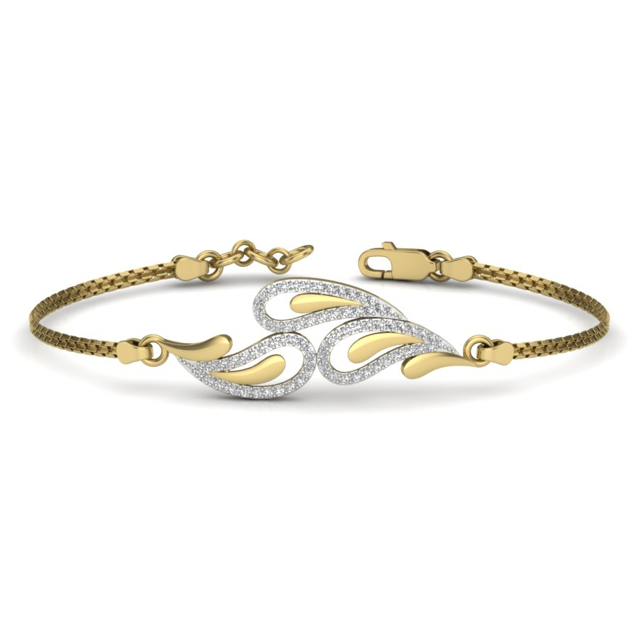 Forever Trio Diamond Bangle