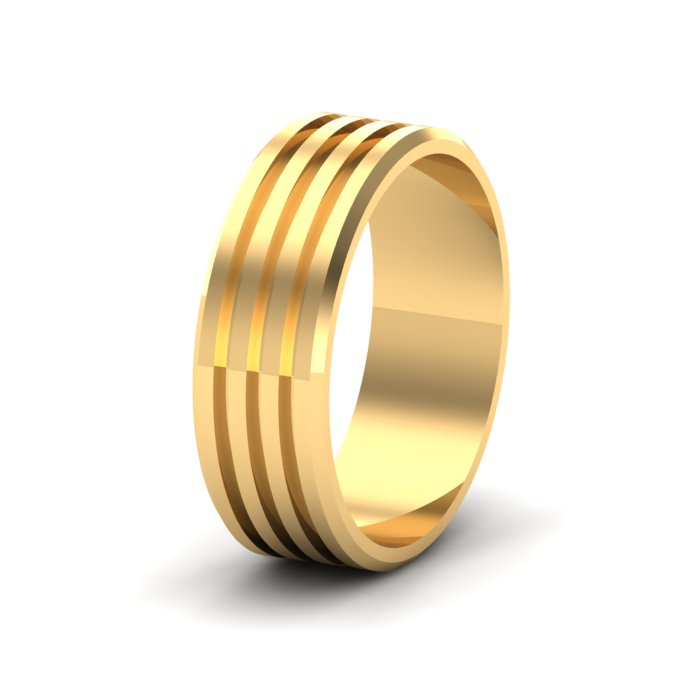 Simple Gold Ring