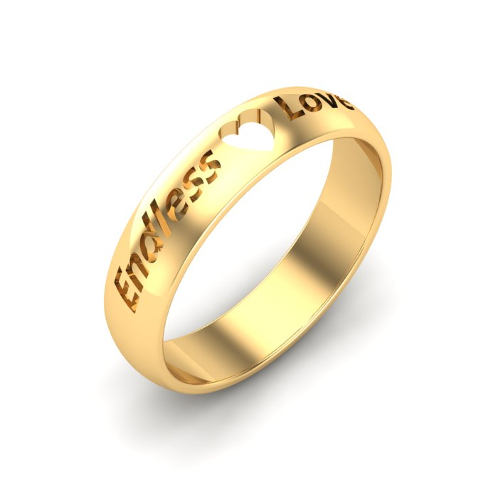 Shiny Gold Ring