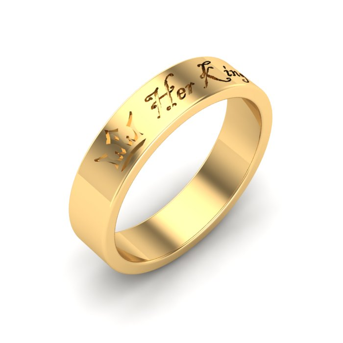 Spark Gold Ring