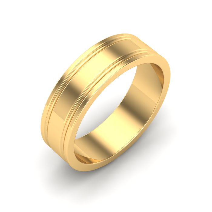 Gold Ring Band