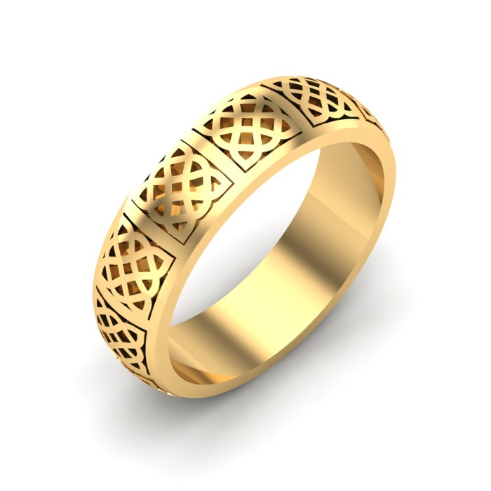 Emerland Gold Ring