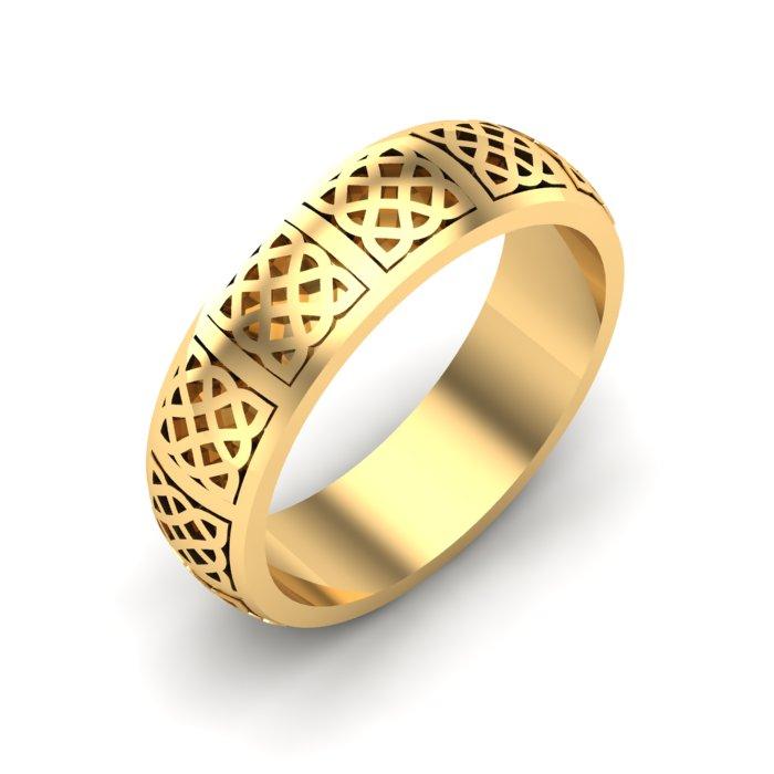 Emerland Gold Ring