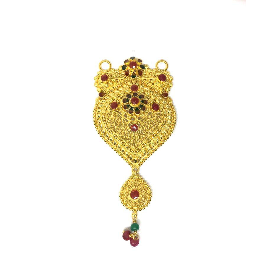 Maharashtrian Trendy Gold Mang