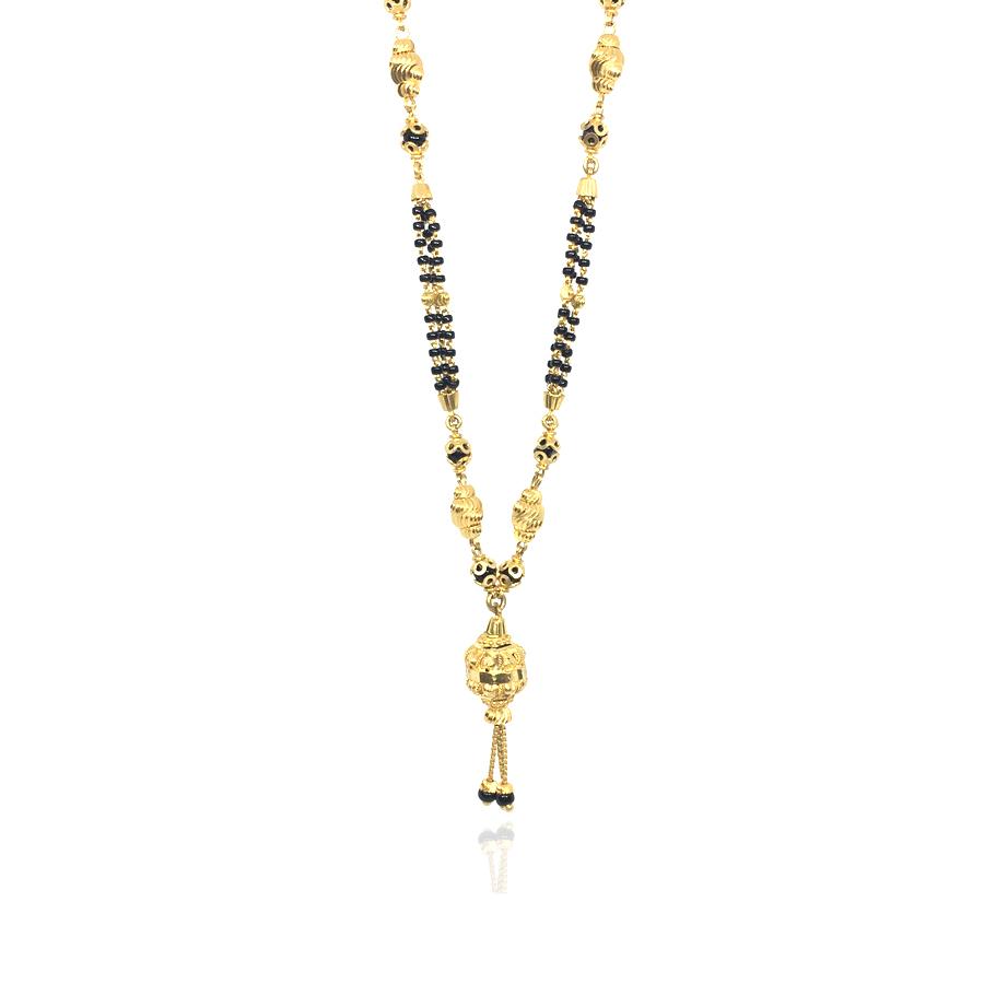 Designer Beads Gold Mangalsutr
