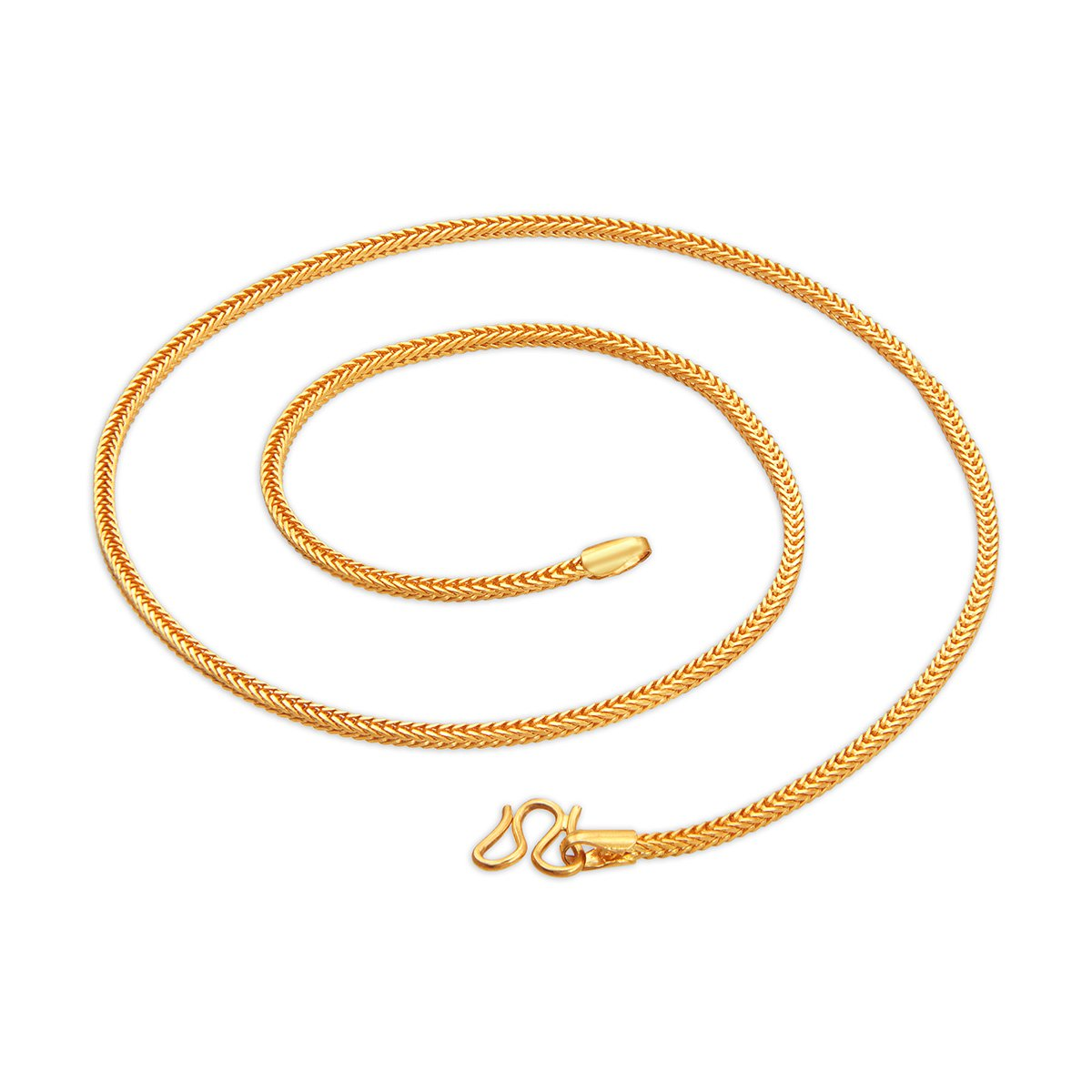 Dual Line Curb Gold Chain