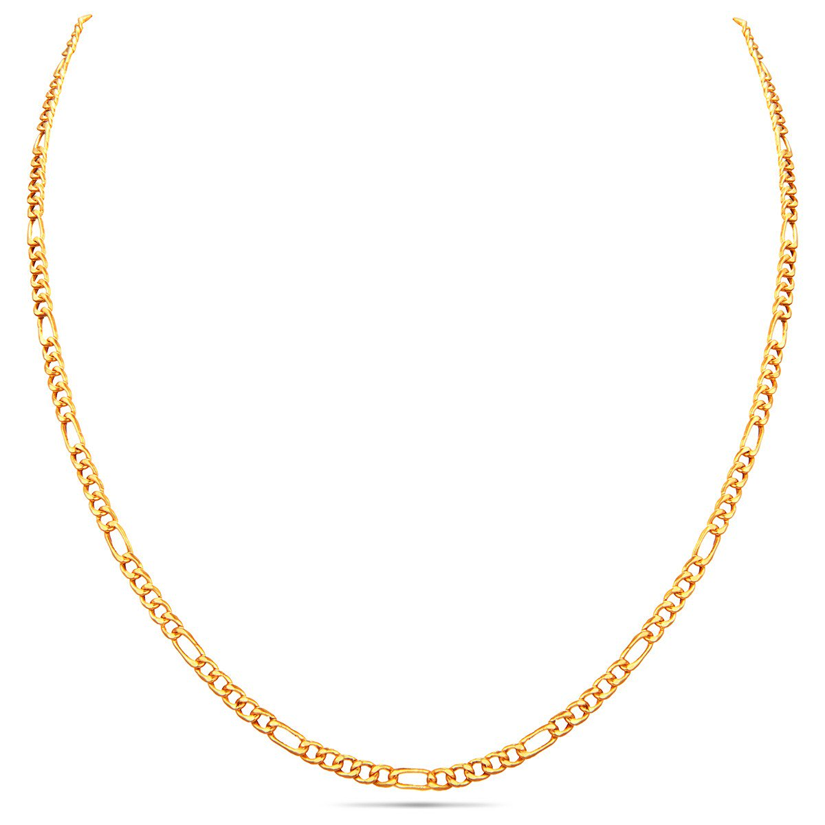 Interlocked Gold Chain