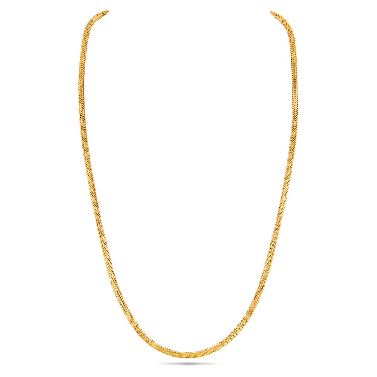22K Simple Yellow Gold Chain