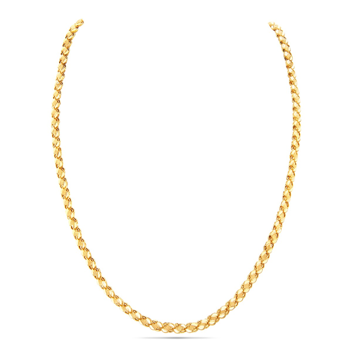 Simple Yellow Gold Chain
