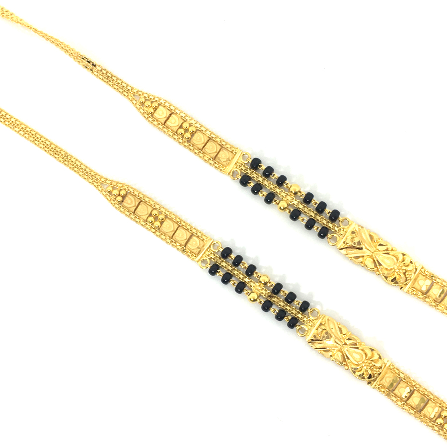 Designer Gold Mangalsutra Chai
