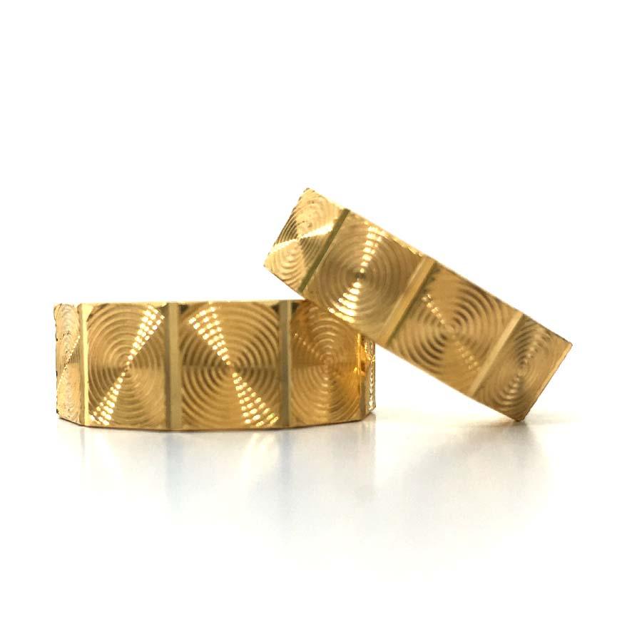 Sparkle Gold Couple Bnad
