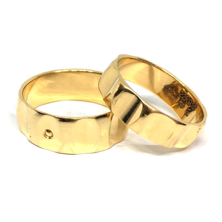 Designer Gold Couple Band