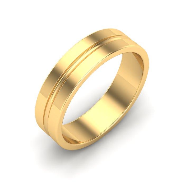 Citrine Gold Ladies Ring