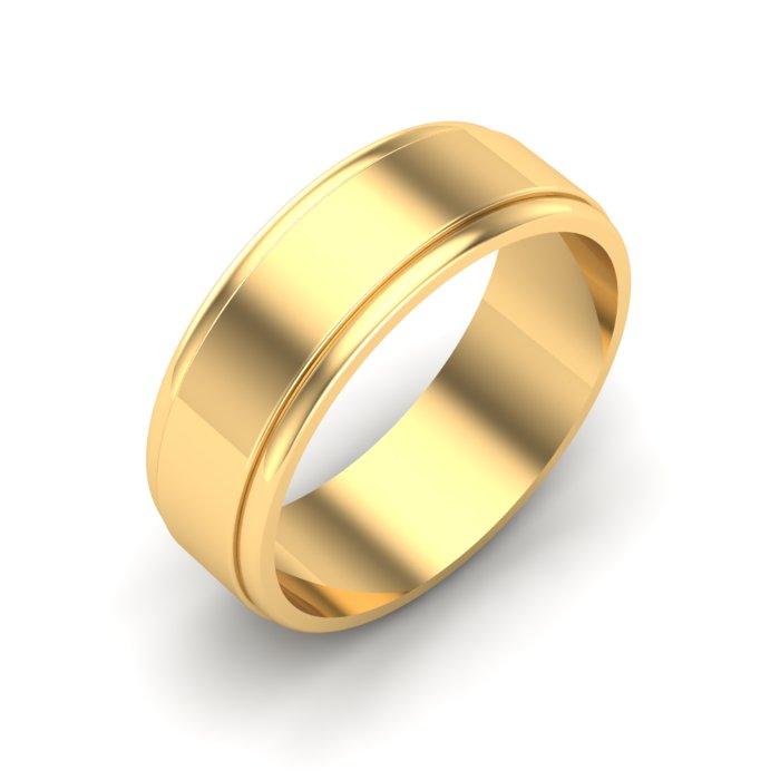 Garnet Gold Ladies Ring