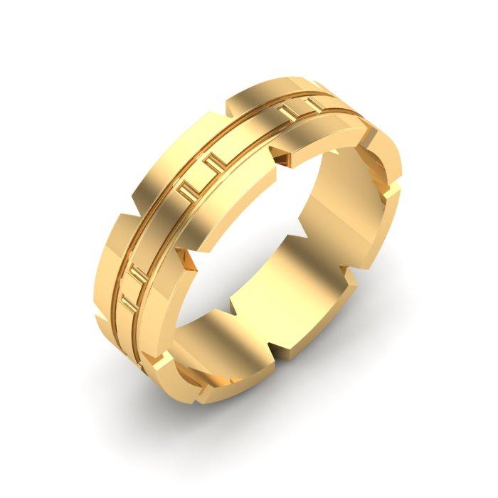 Shine Gold Ladies Ring
