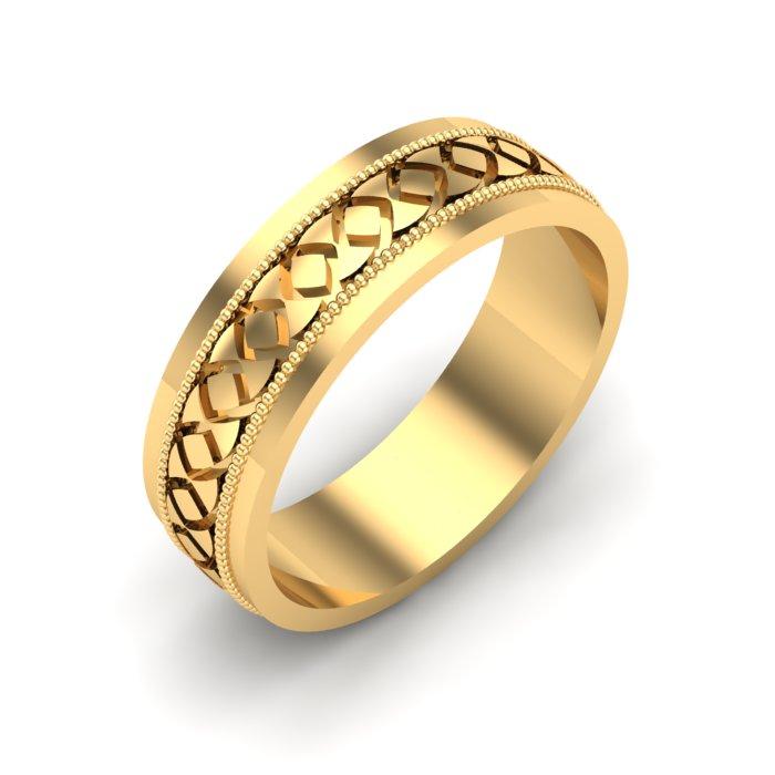 Emerald Gold Ladies Ring
