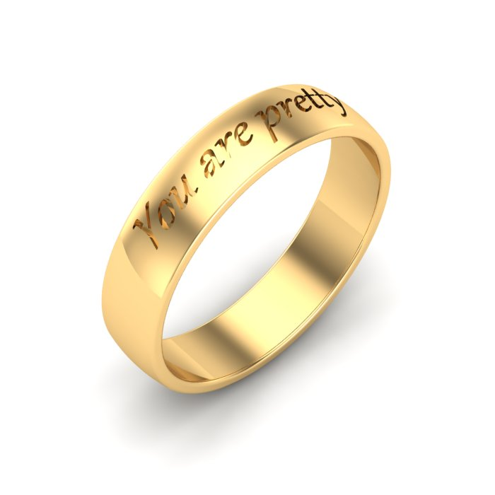 Preety Gold Ladies Ring