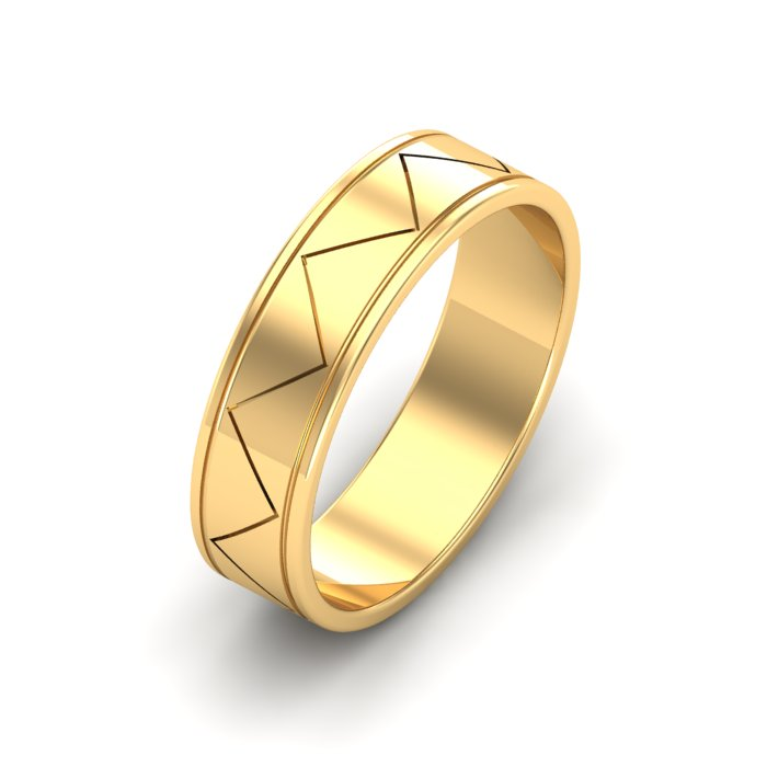 Zigzag Gold Ring