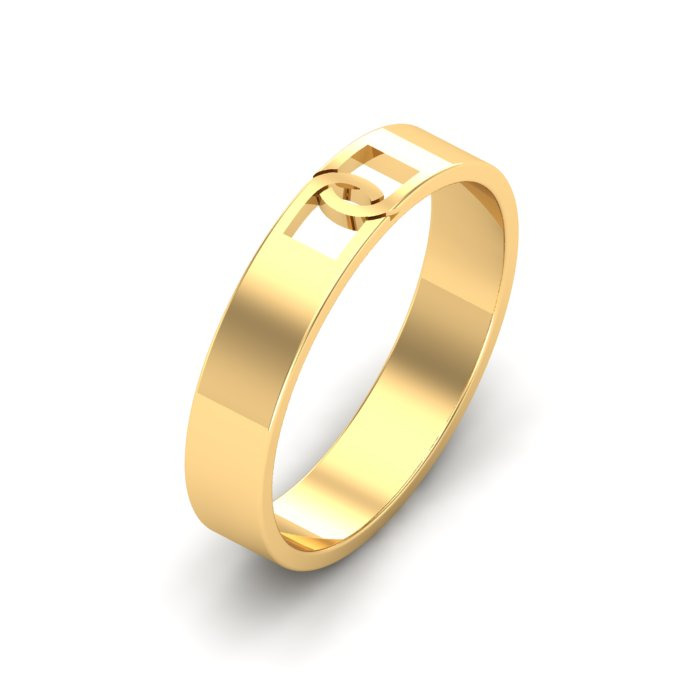 Dean Band Gold Ring