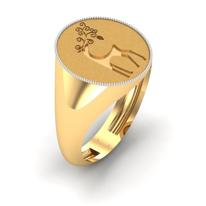 Kasturi Gold Ring