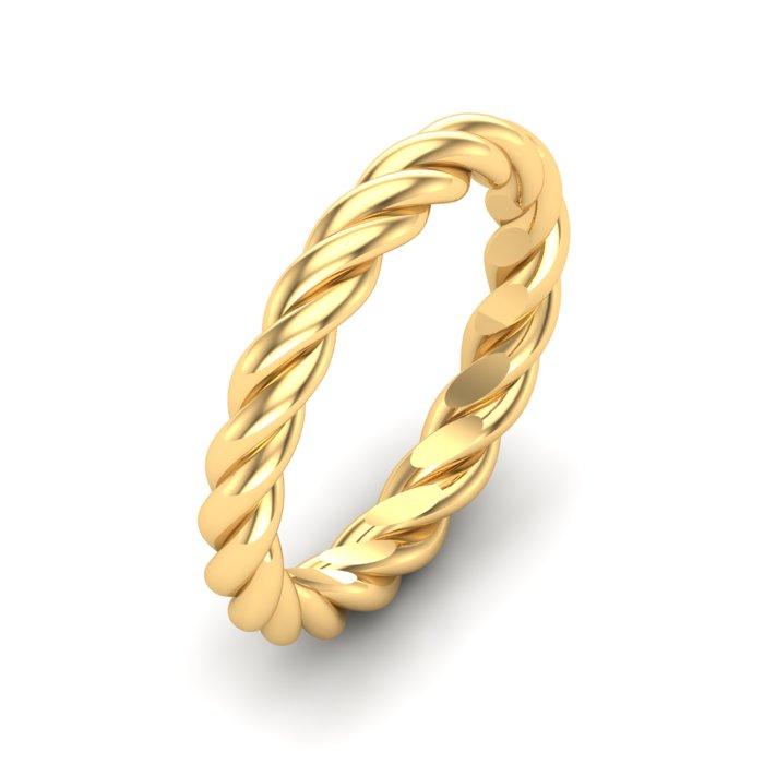 Spiral Gold Ring
