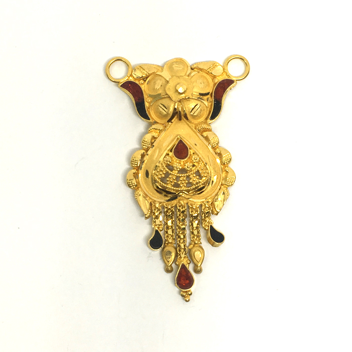 Bawri Gold Mangalsutra Pendant