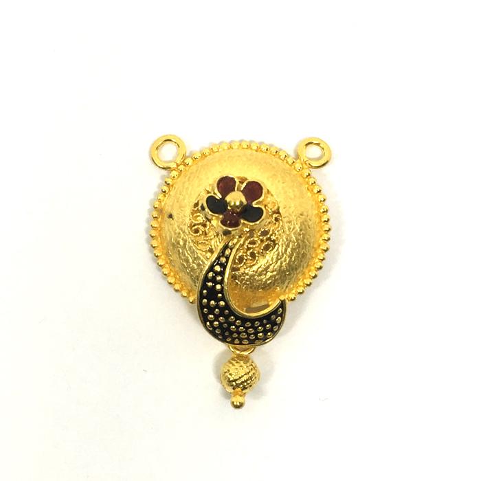 Peacock Gold Mangalsutra Penda
