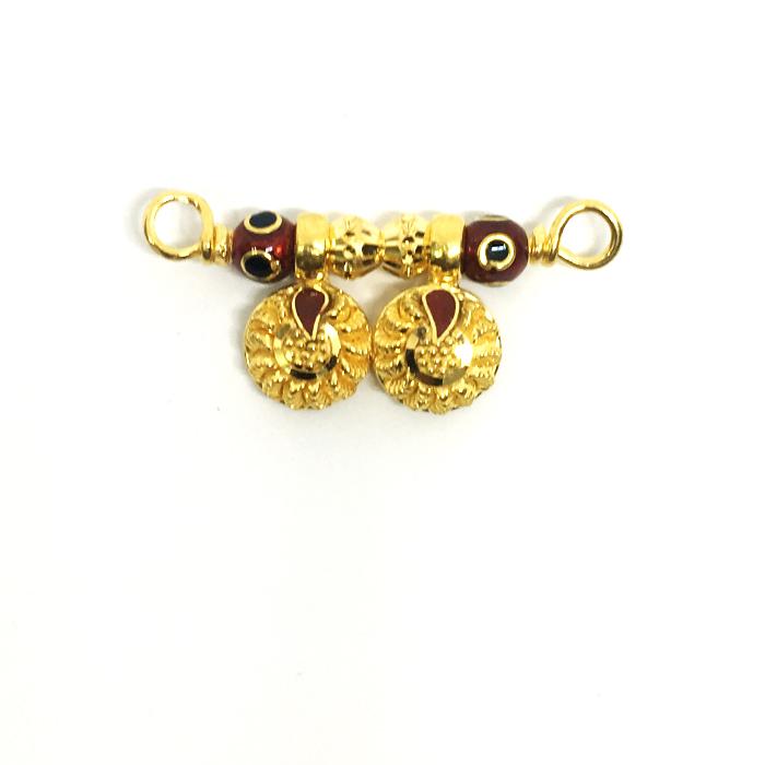 Shiny Gold Mangalsutra Pendant