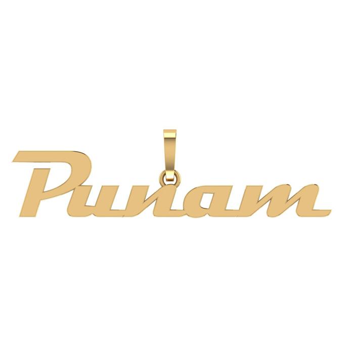 Punam Gold Pendant