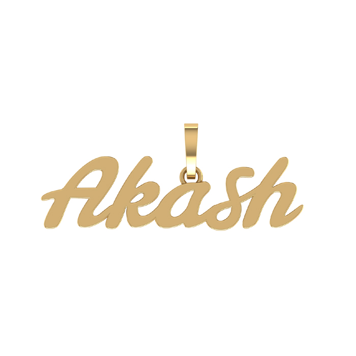 Akash Gold Pendant