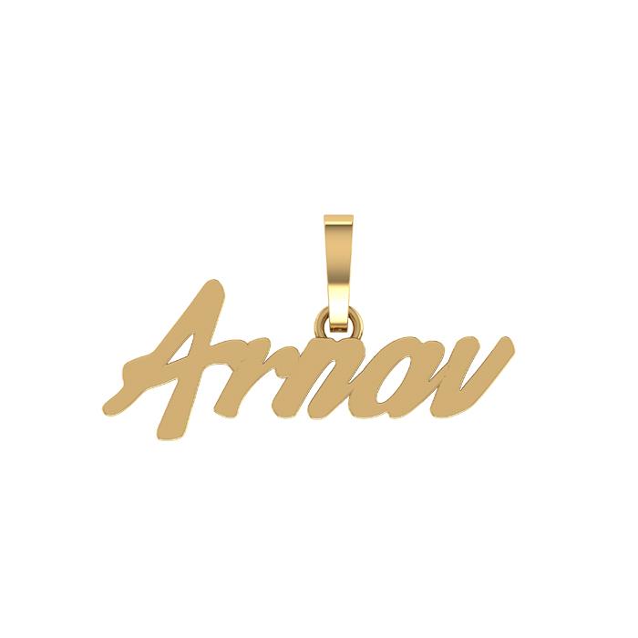 Arnav Gold Pendant