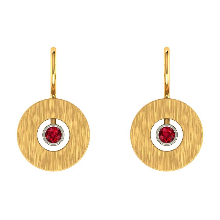 Avnita Hoop Gold Earring
