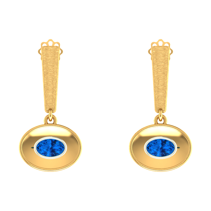 Classic Drop Gold Earring