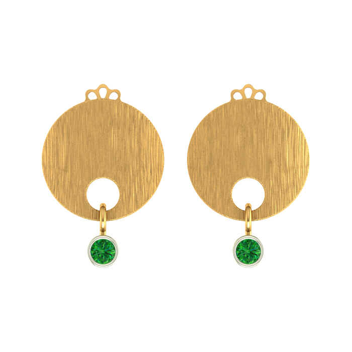 Simple Stud Gold Earring
