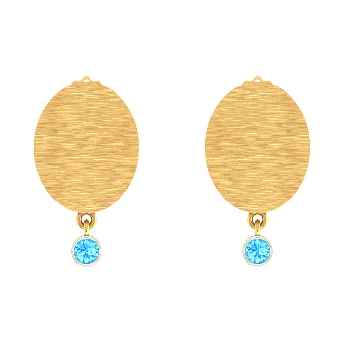 Classic Stud Gold Earring