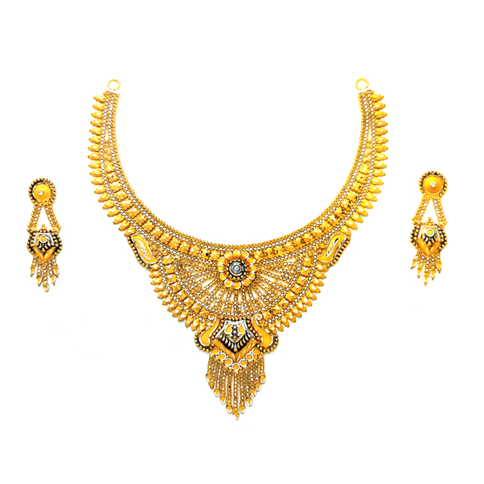 Spanish Gold Necklace Set