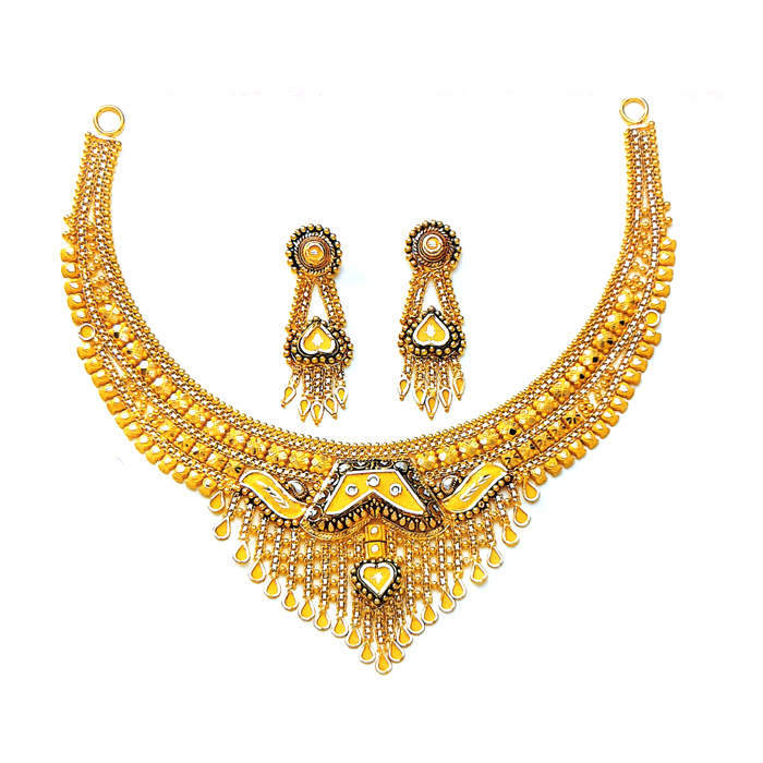 Meher Gold Necklace Set