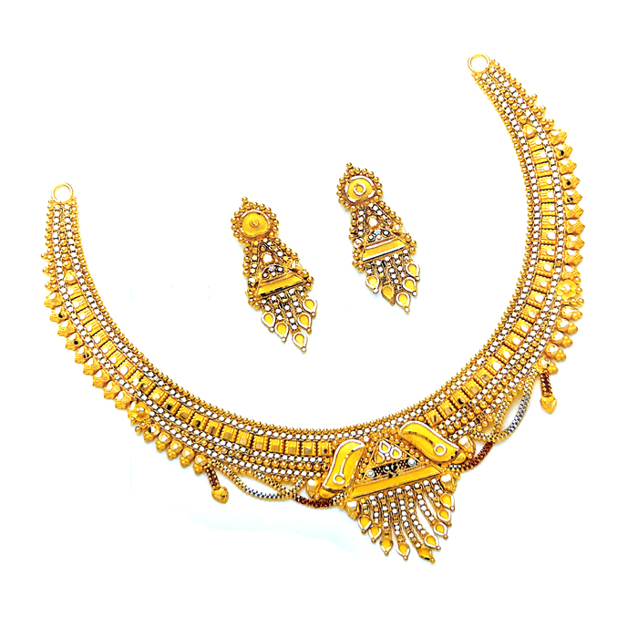 Piyu Gold Necklace Set