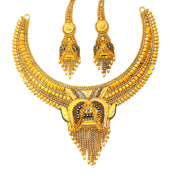 Sophia Gold Necklace Set