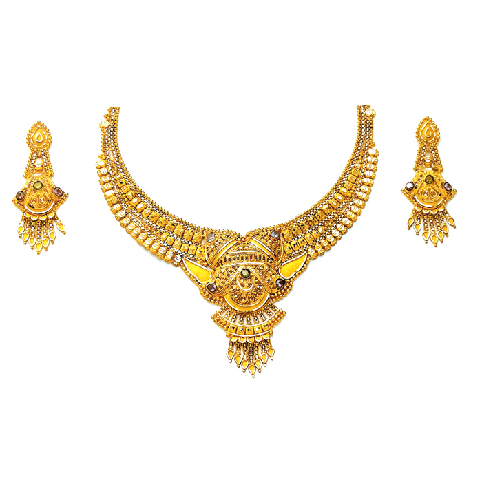 Sonali Gold Necklace Set