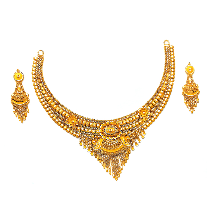 Florous Gold Necklace