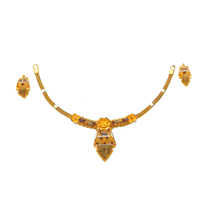 Bloom Lotus Gold Necklace